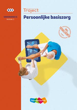 Traject Combipakket Persoonlijke basiszorg niv 3 boek en totaallicentie 1 jaar