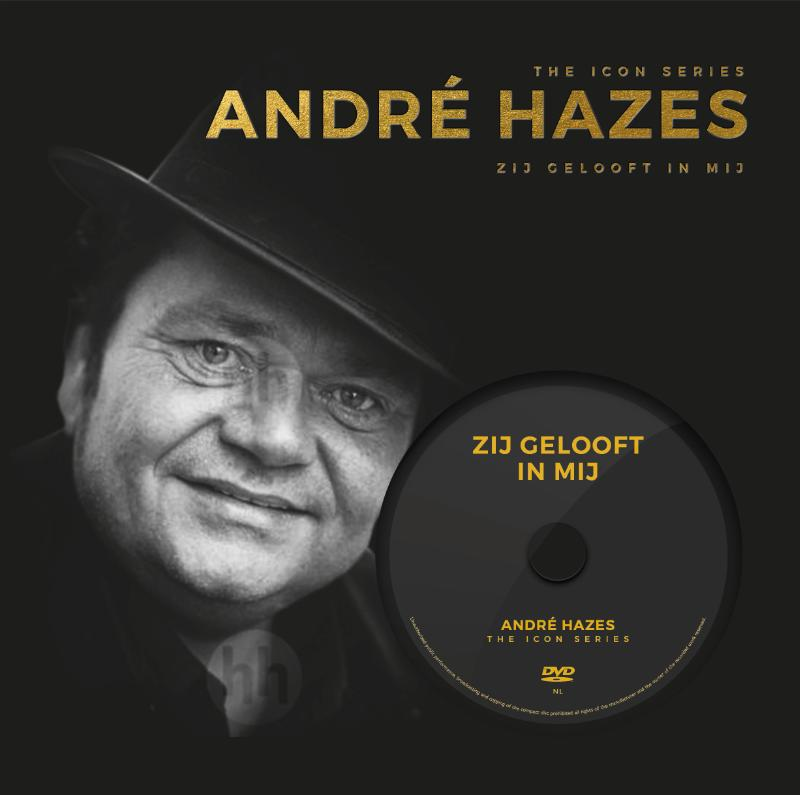 André Hazes - The Icon Series met DVD