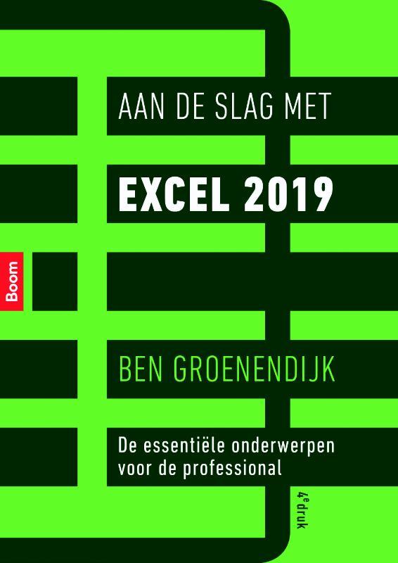 Aan de slag met Excel 2019