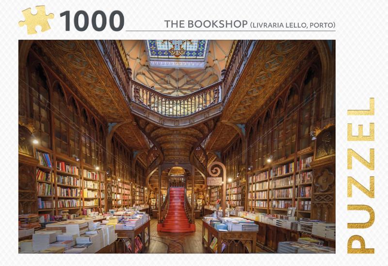 The Bookshop - puzzel 1000 stukjes