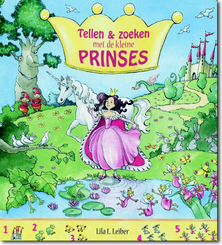 Tellen en zoeken met de kleine prinses