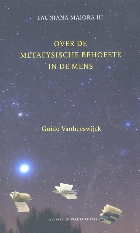 Over de metafysische behoefte in de mens