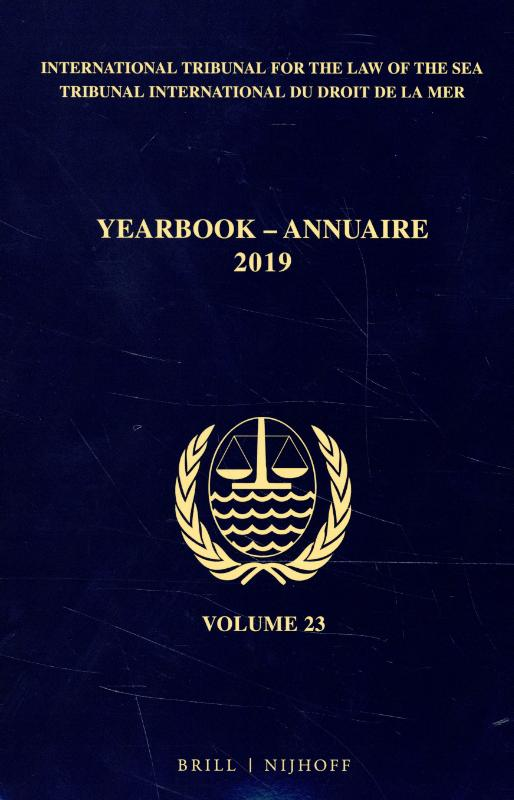 Yearbook International Tribunal for the Law of the Sea / Annuaire Tribunal international du droit de