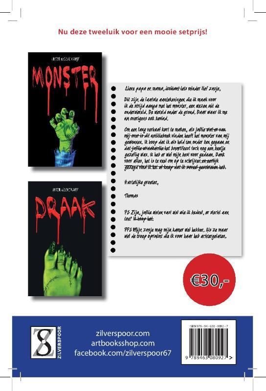 Monster & Draak tweeluik - compleet (deel 1 en 2)
