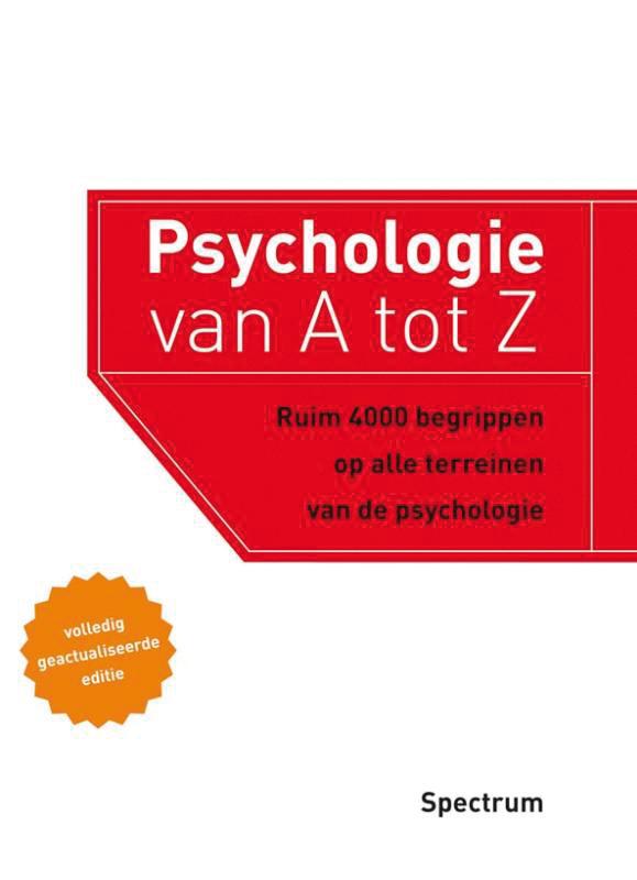 Psychologie van A tot Z