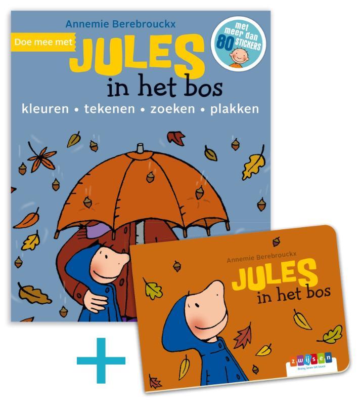 promobundel Doe mee met Jules in het bos + kartonboekje Jules in het bos