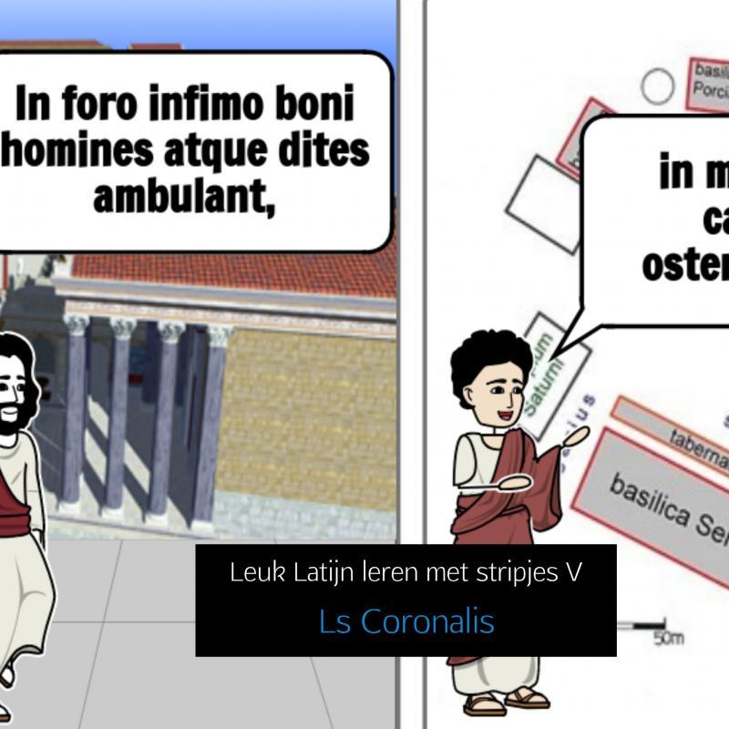 Leuk Latijn leren met stripjes V