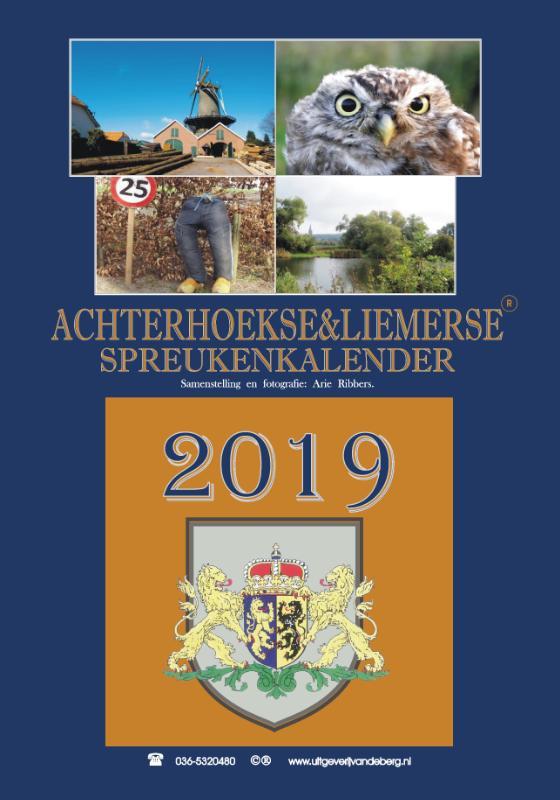 Achterhoekse & Liemerse Spreukenkalender 2019