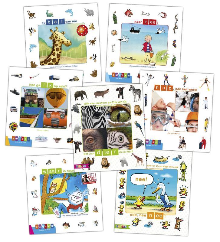 Pakket 2 Kleuters samenleesboeken (7 titels)