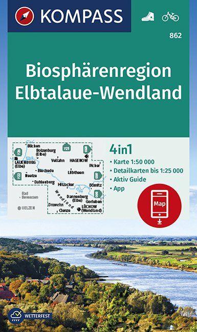 Biosphärenregion Elbtalaue-Wendland 1:50 000