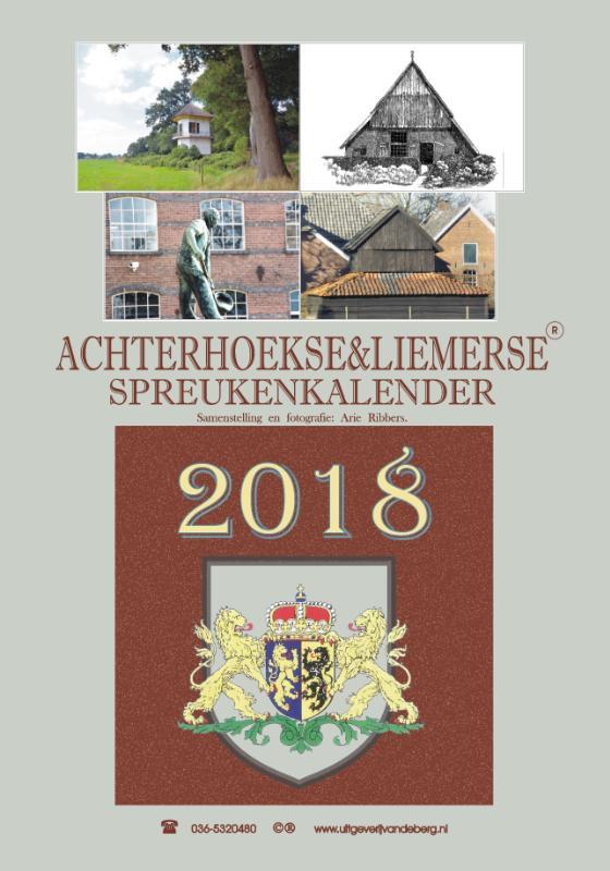 Achterhoekse & liemerse spreukenkalender 2018