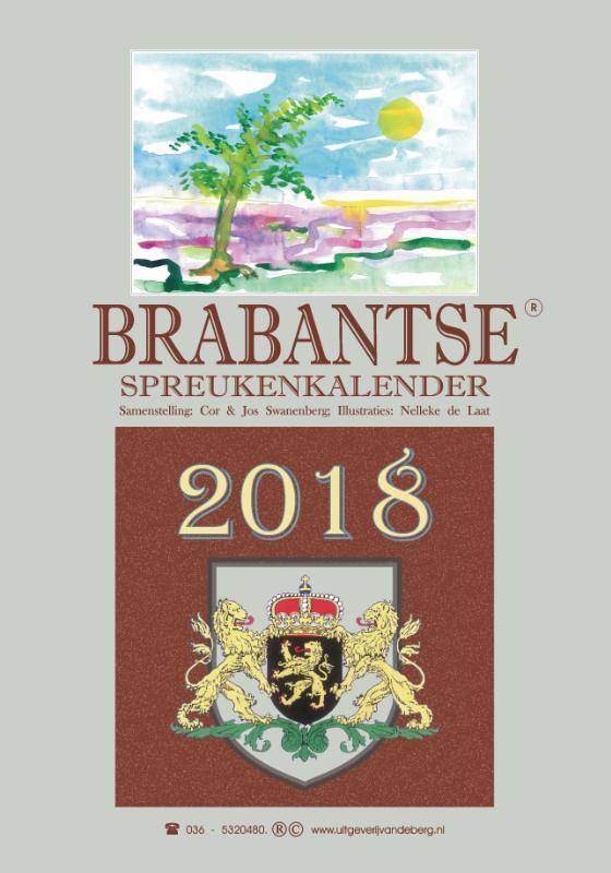 Brabantse spreukenkalender 2018