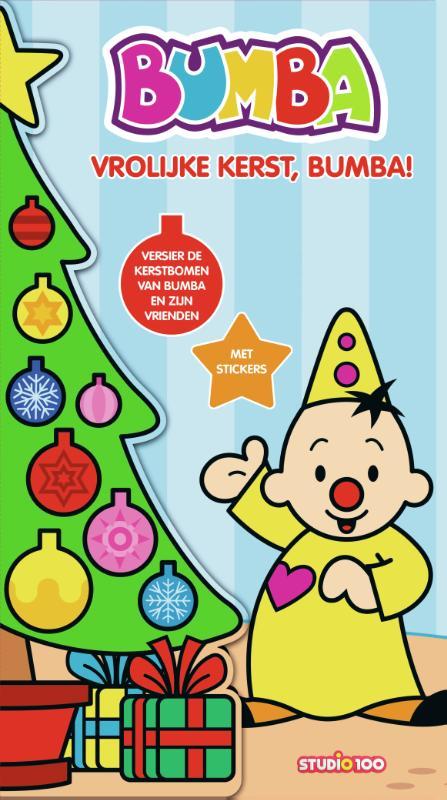 Kerst stickerboek