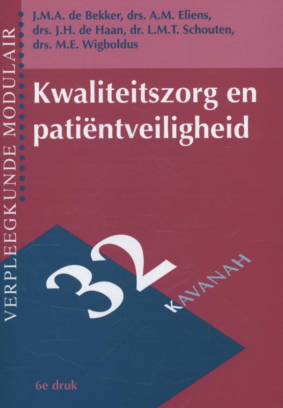 Kwaliteitszorg en patientveiligheid