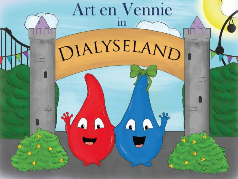 Art en Vennie in Dialyseland