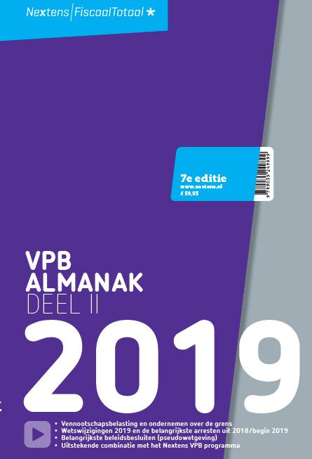Nextens VPB Almanak 2019 deel 2