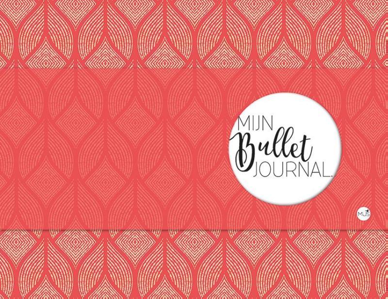 Mijn bullet journal - rood
