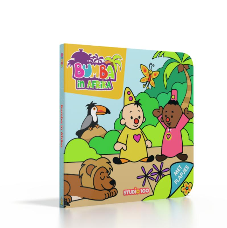 Bumba : kartonboek - Bumba in Afrika