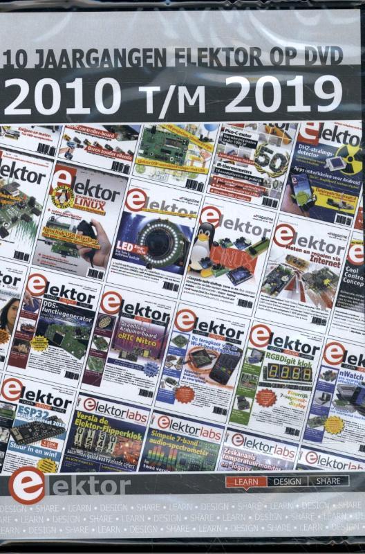 DVD Elektor 2010 t/m 2019