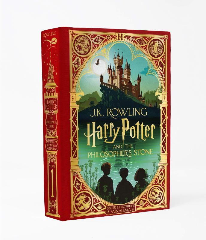 Harry Potter and the Philosopher's Stone MinaLima Edition
