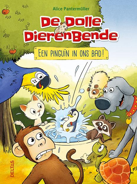 De dolle dierenbende - Een pinguïn in ons bad!