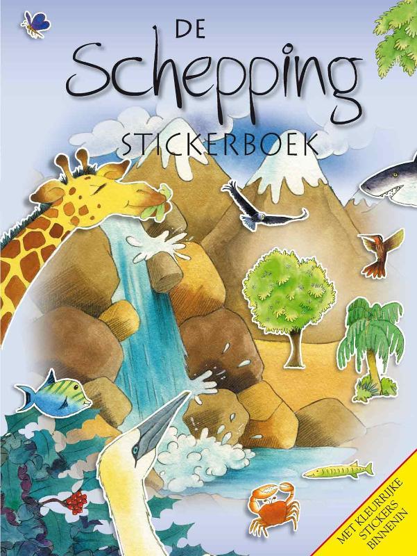 De Schepping (stickerboek)