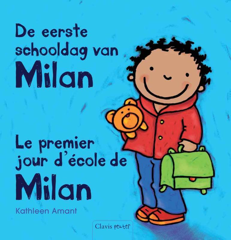 De eerste schooldag van Milan - Le premier jour d'ecole de Milan
