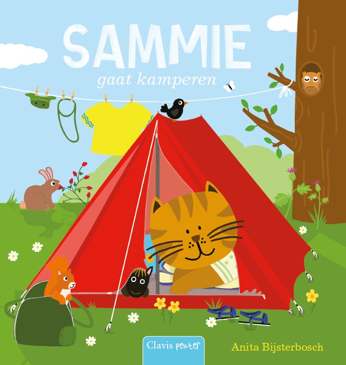 Sammie gaat kamperen