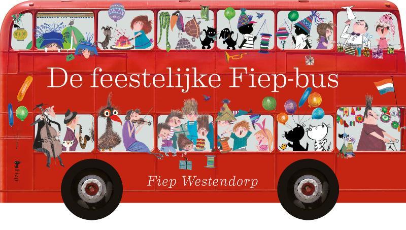De feestelijke Fiep-bus