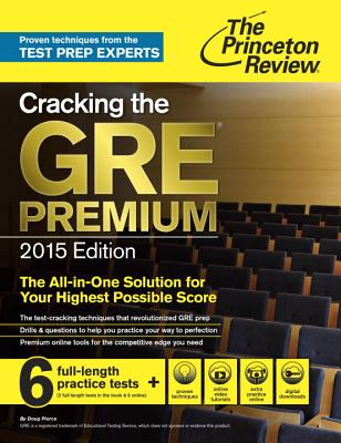 The Princeton Review Cracking the Gre Premium 2015