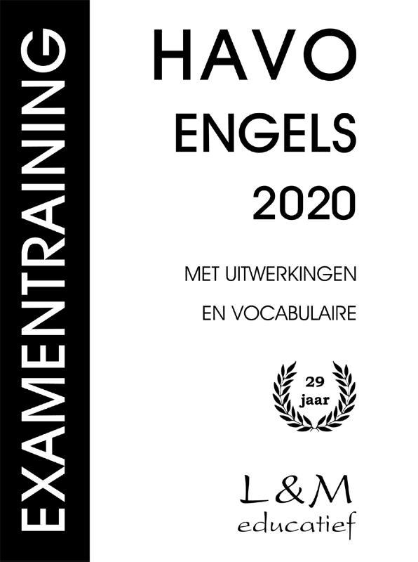 Examentraining Havo Engels 2020