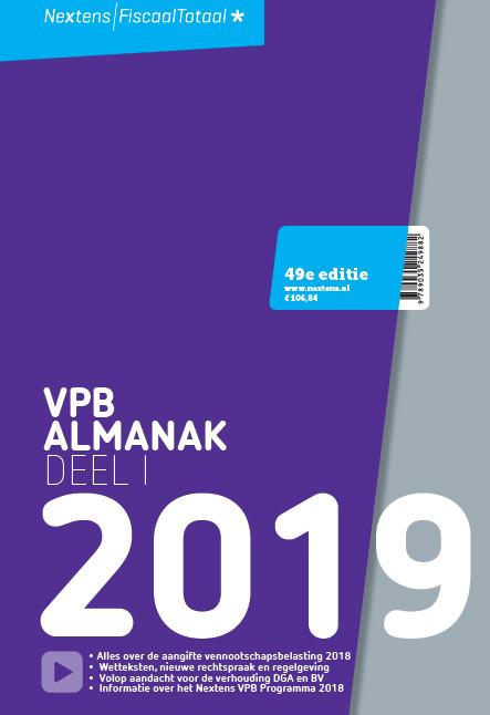 Nextens VPB Almanak 2019 deel 1