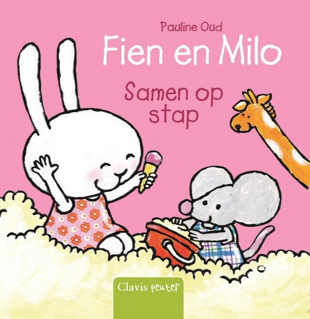 Fien en Milo samen op stap
