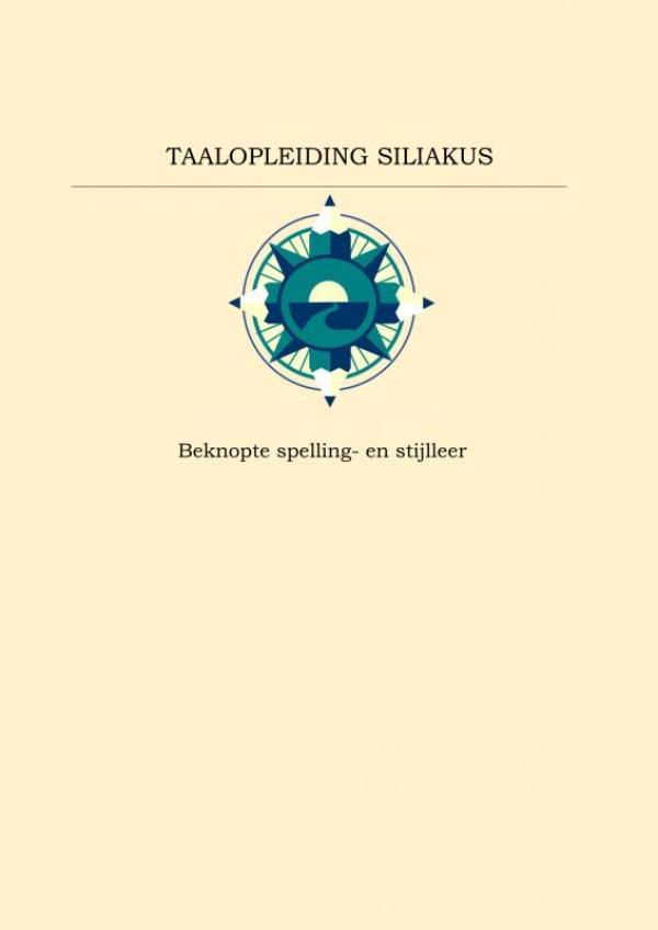 Beknopte spelling- en stijlleer