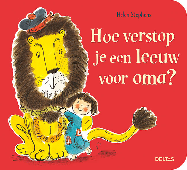 Hoe verstop je een leeuw voor oma?