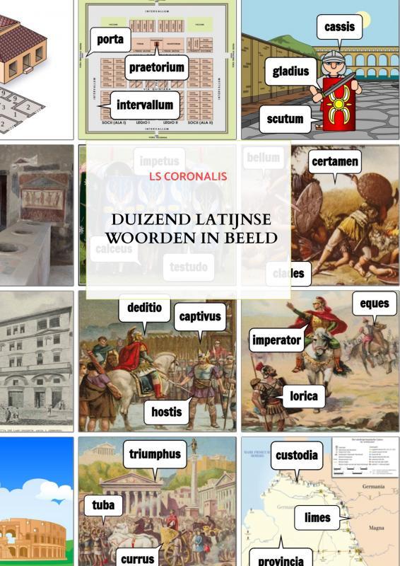 Duizend Latijnse woorden in beeld