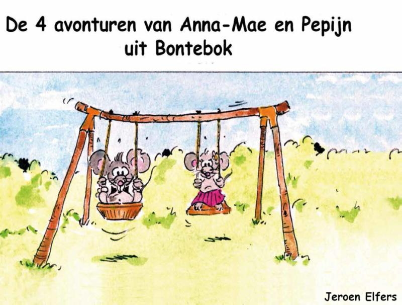 De 4 avonturen van Anna-Mae en Pepijn uit Bontebok