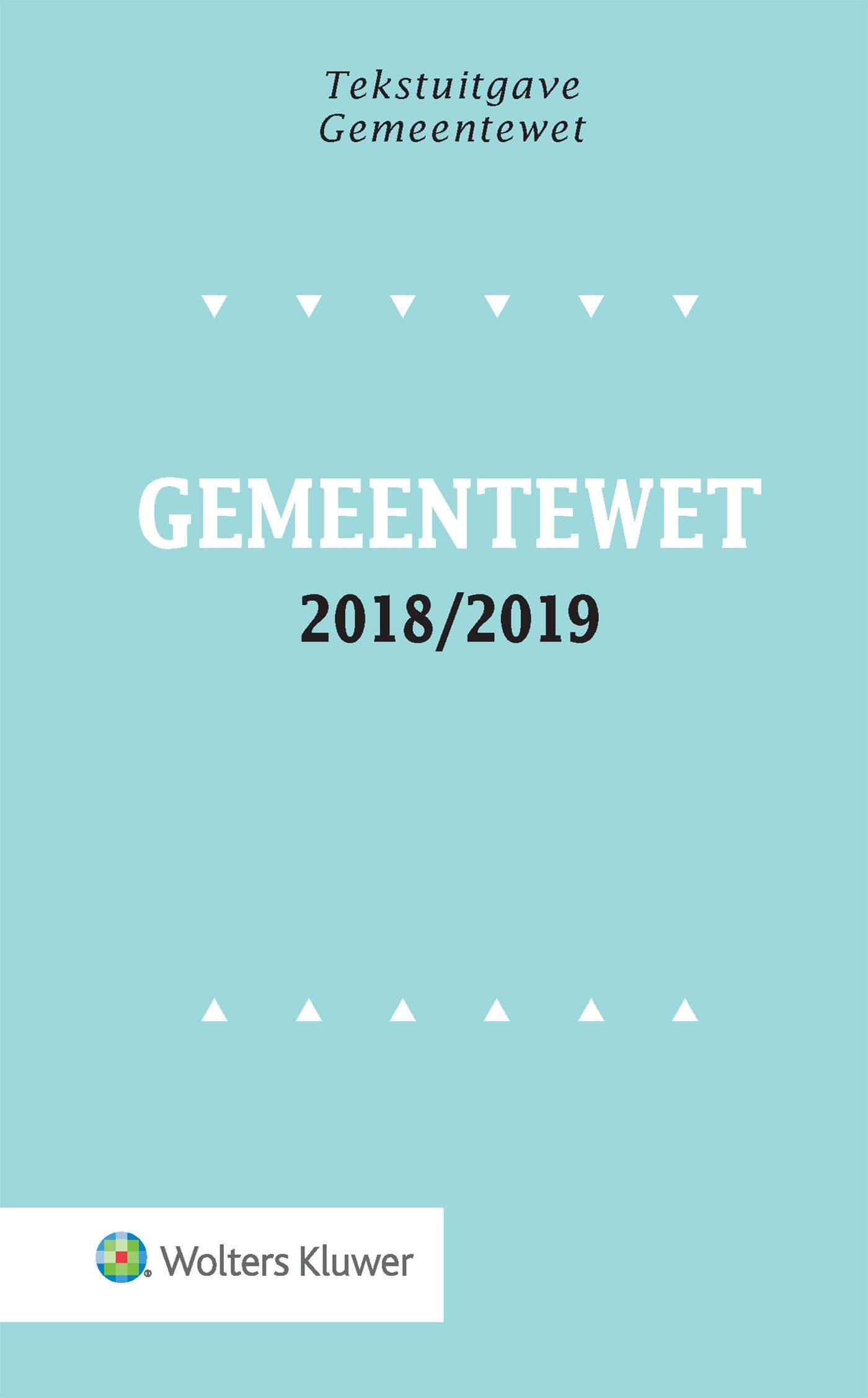 Gemeentewet / 2018/2019