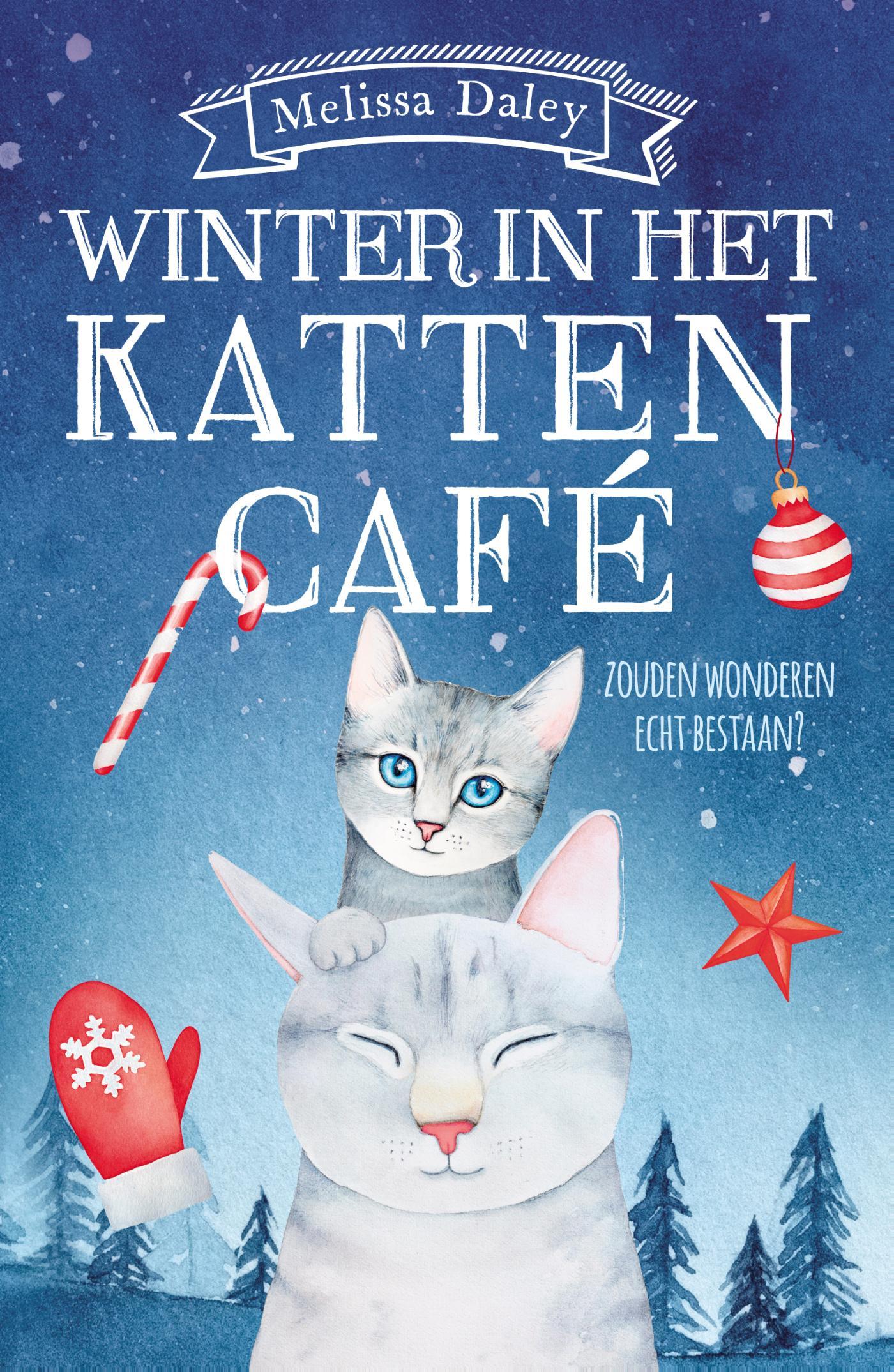 Winter in het kattencaf�