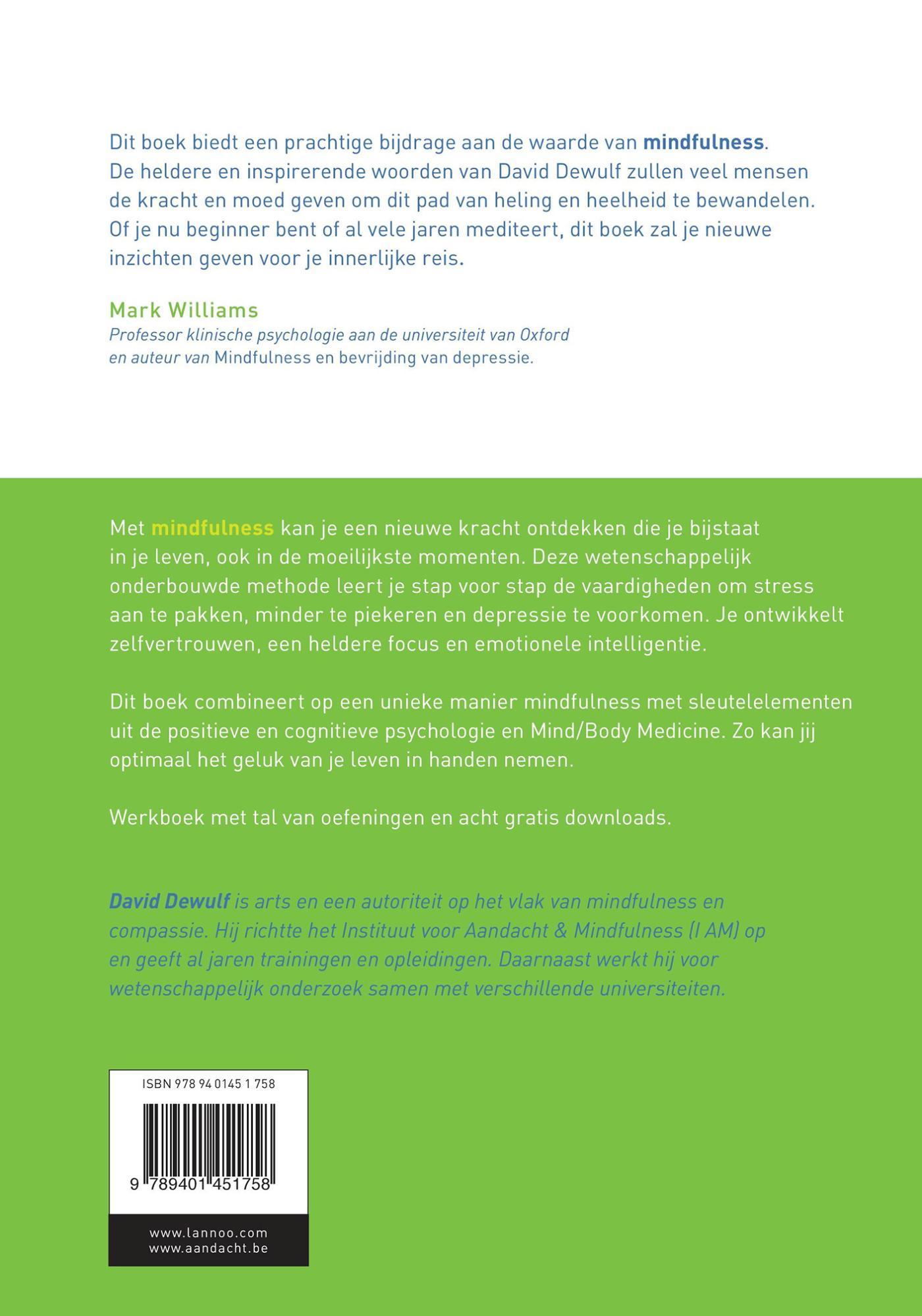 Mindfulness / deel werkboek