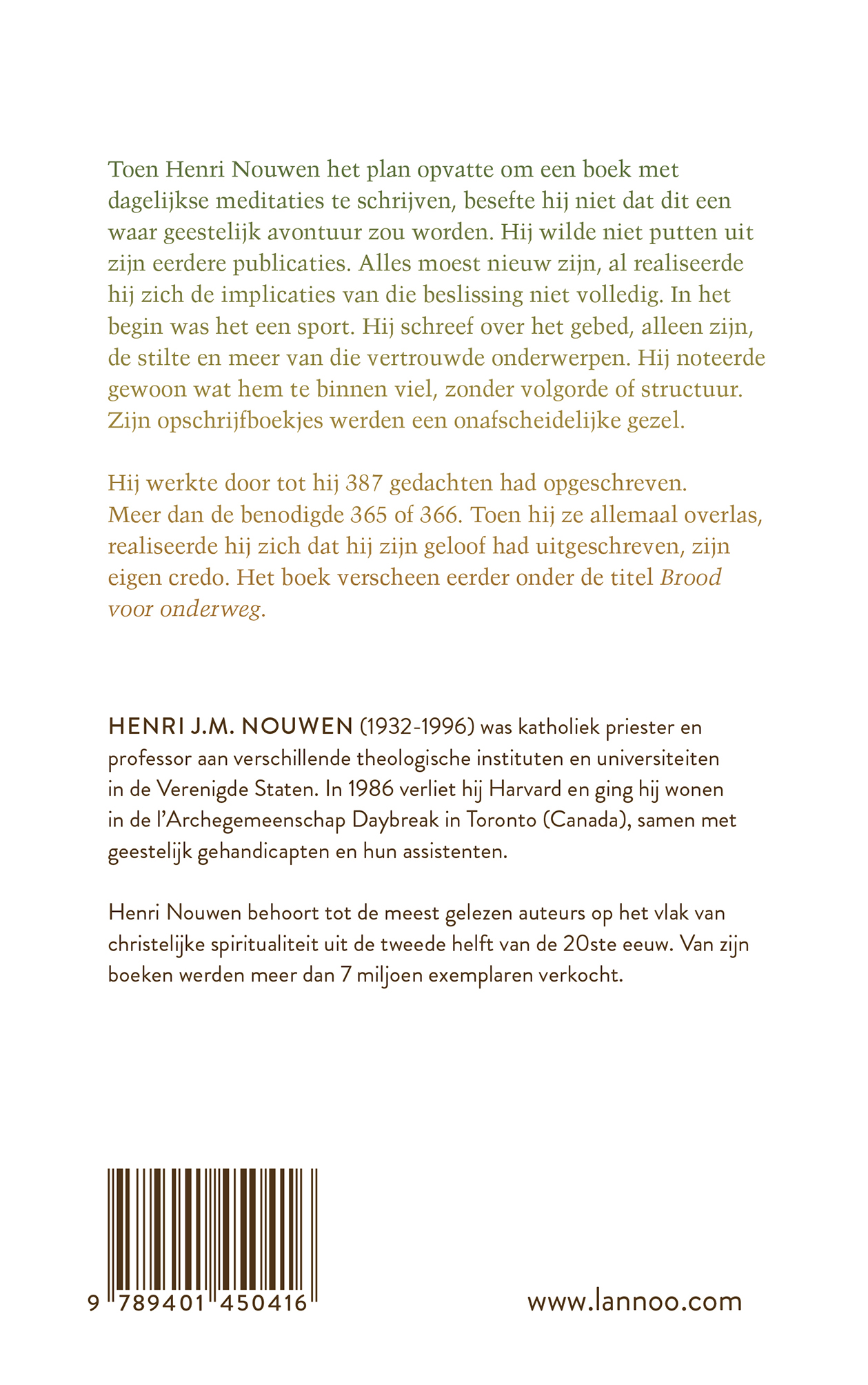 Een jaar met Henri Nouwen